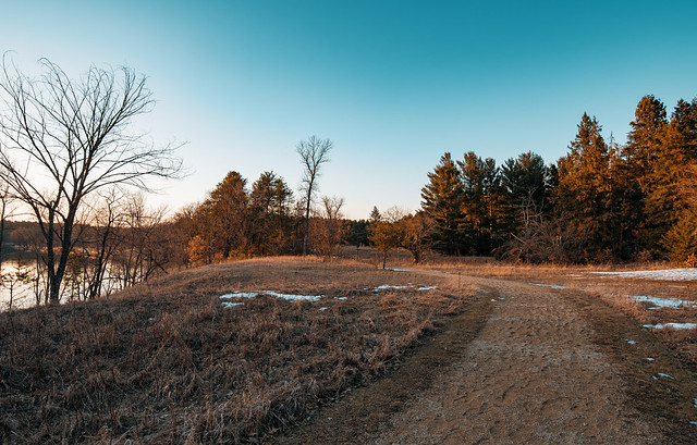 Hiking Trail at Crow Wing State Park, Minnesota
