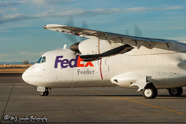 N908FX FedEx Feeder    ATR-42-300F   Natrona County International Airport
