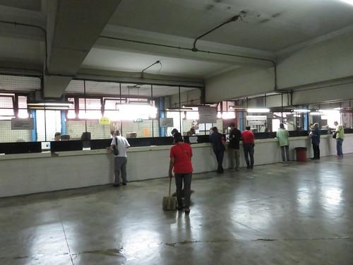 タイの競馬場の馬券売場