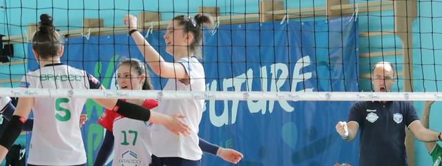 U16 BLU Fase Regionale 25 Aprile 2018 Gara 1 Bracco Pro Patria  - Vivi Volley Marchirolo 3 - 2