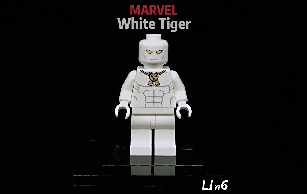 White Tiger Lego Marvel Collection White Tiger Leyilebr