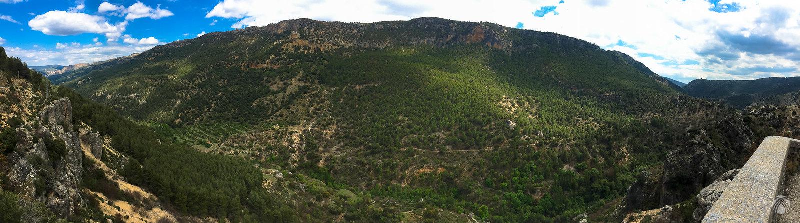 Frontal de la umbría de la Sierra de Huebras