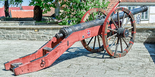 The Red Lion Cannon Tallinn Estonia The Red Lion Cannon Flickr