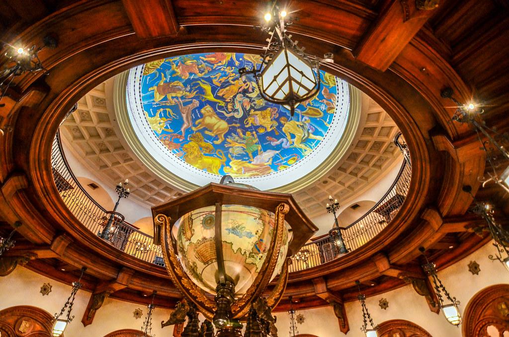 Magellan's globe main room from bottom TDS