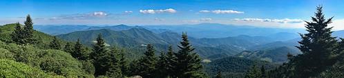grassy ridge appalachian trail carvers gap north carolina tennessee hiking