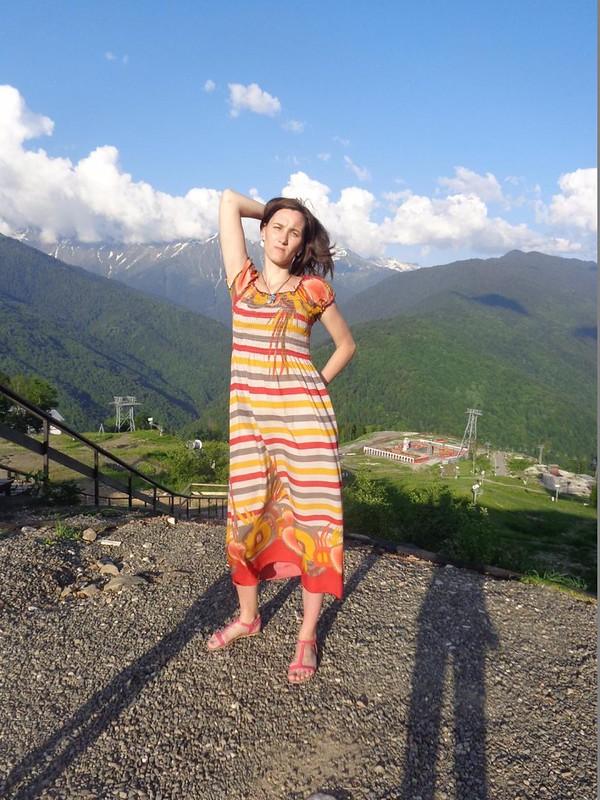 Лилия Гафарова Роза Хутор