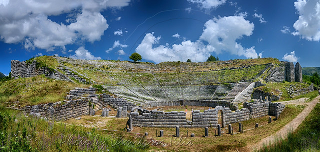 Αρχαίο θέατρο Δωδώνης Dodoni's ancient theater Panorama