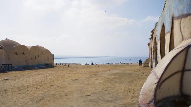 The Upper lake in Egypt's Wadi El Rayan protectorate