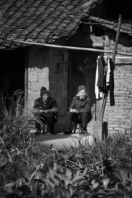 The old ladies of Yangshuo
