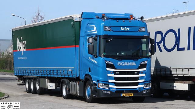 Scania R500 (NL224) STT Logistics - Beijer Transport & Logistics