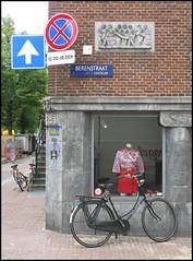 Invader at Berenstraat, Amsterdam