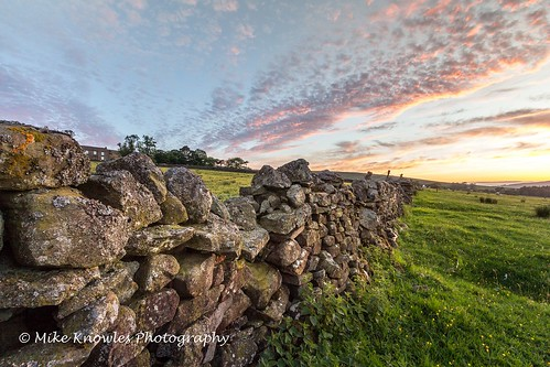 canon canon650d cumbria clouds drystonewall mikeknowles sunset tree trees ndfilter northpennines alston alstonmoor summer farm grass