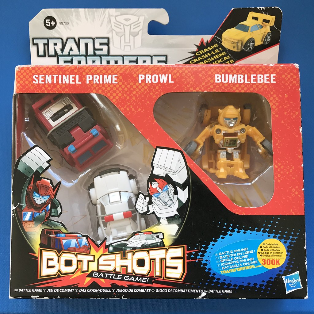 Hasbro - Transformers - Bot Shots Battle Game - Autobots | Flickr