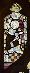 Gabriel at the Annunciation (15th Century, restored)
