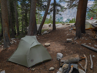 Camp at 9,900ft up the Dusy Branch | by snackronym