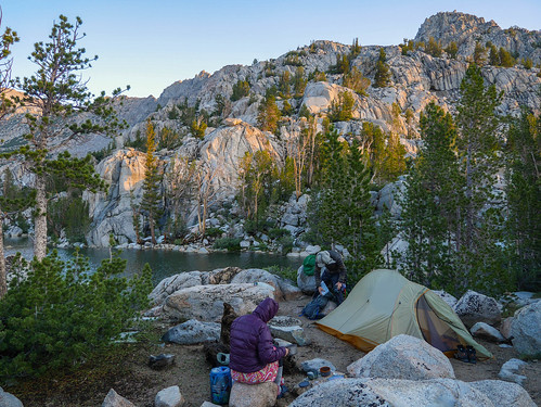 Breakfast at camp at Lower Lamarck Lake | by snackronym