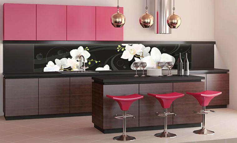 Decorare cucine moderne con pannelli a parete per il crusc ...