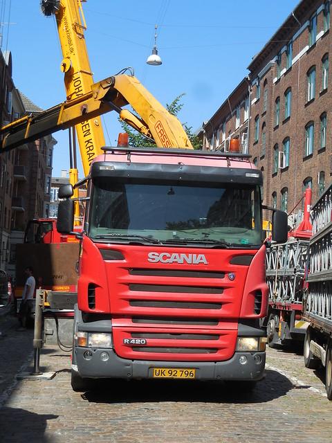 Johannesen Scania R420 UK92796