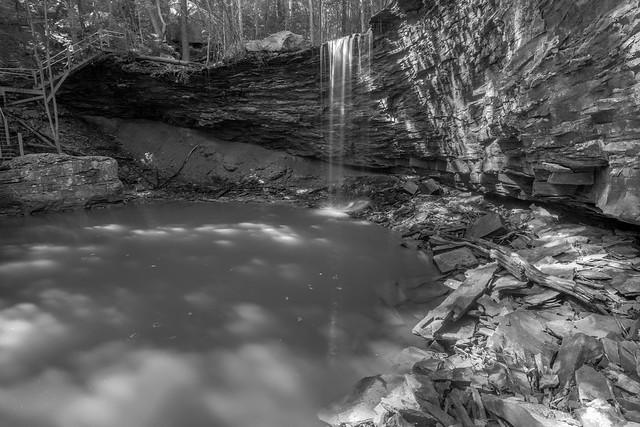 Lower Isha Falls, Isha Campus, Warren County, Tennessee