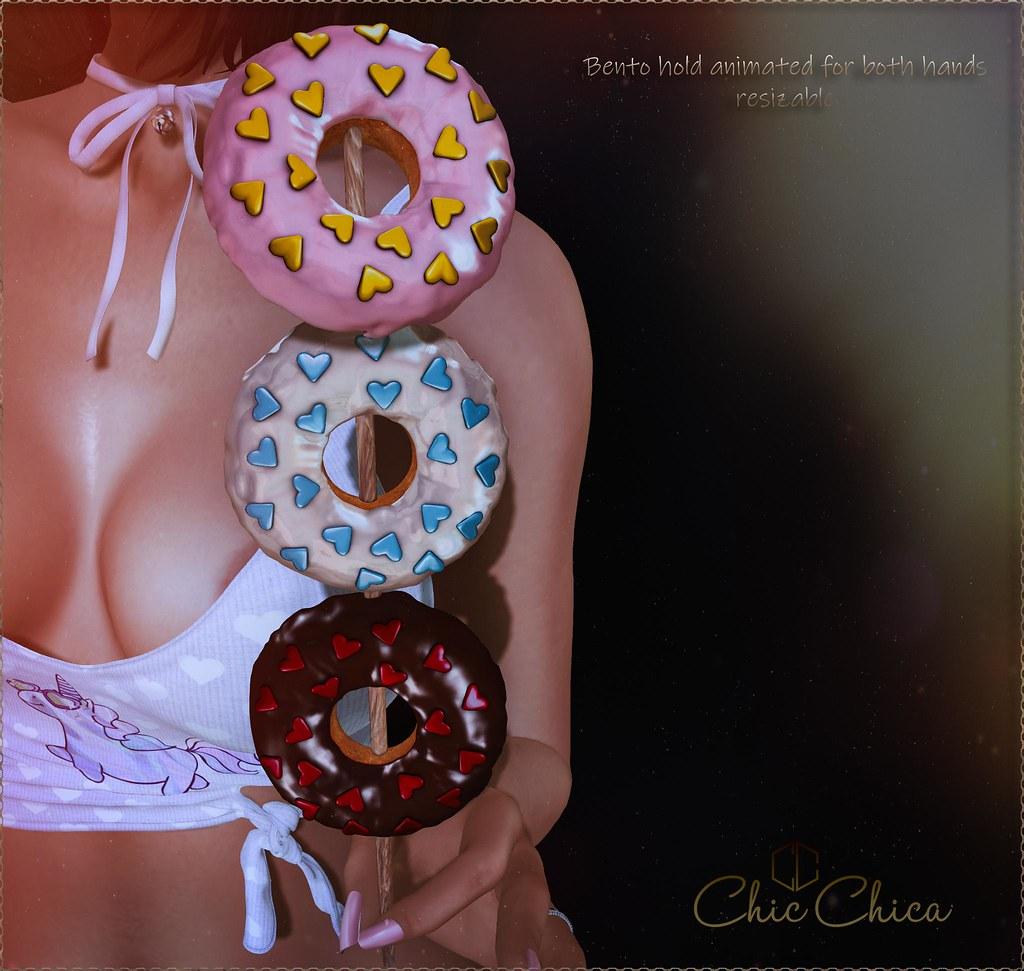 Donuts kebab by ChicChica 70 lindens for Saturday Sale