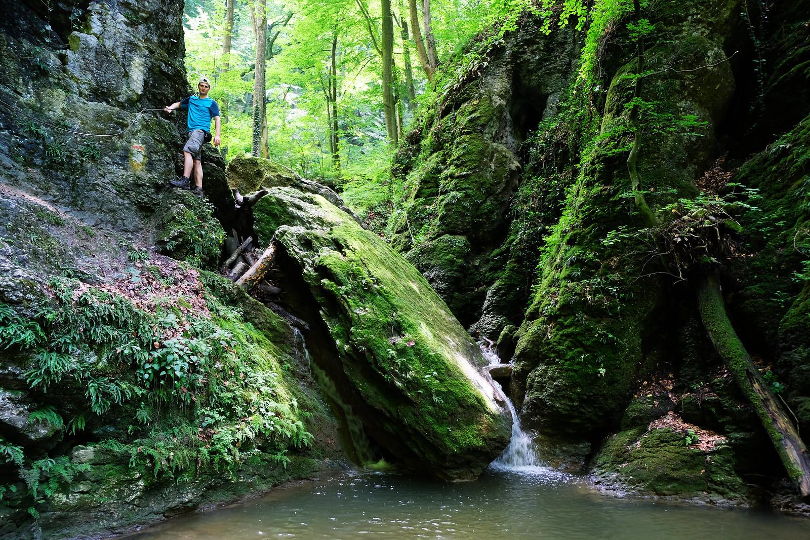 Ördög-árok gorge, Bakony Mountains, Hungary