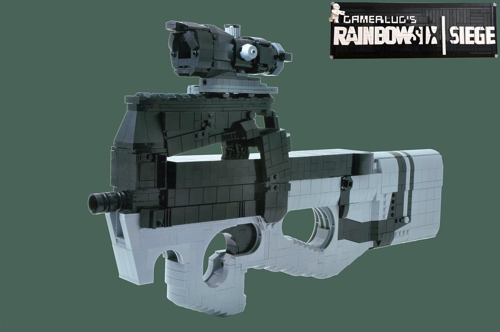 P90 - Rainbow Six Siege | GamerLUG's Rainbow Six Siege My ma… | Flickr