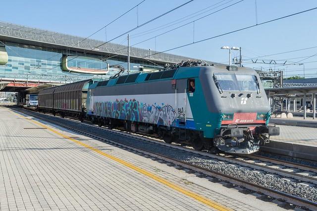 MRS Bari Lamasinata - Roma Smistamento (Trasferimento Papamobile)