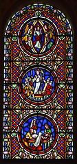 Ascension, Resurrection, Entombment (William Wailes, 1860s)