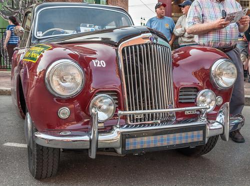 automobile gardiner maine thegreatrace classiccar hemmingssunbeam talbot 90