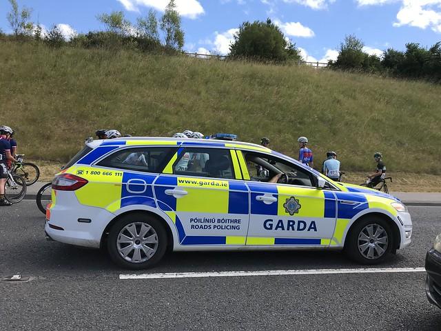 Irish Police Car - An Garda Siochana - Ford Mondeo Estate - Roads Policing Unit - N85, Ennis, Ireland.