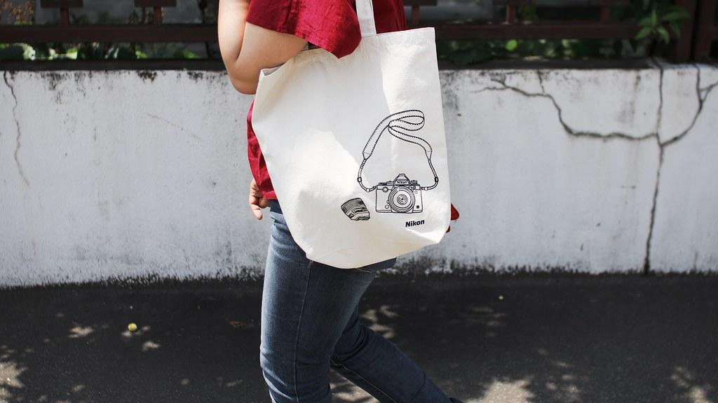 Canvas tote bag printed with NIKON!   MIKI Yoshihito   Flickr