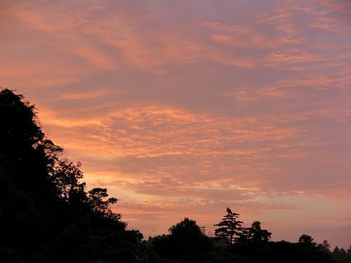 miyagi sendai 仙台市 sunset japan 宮城県 夕焼け