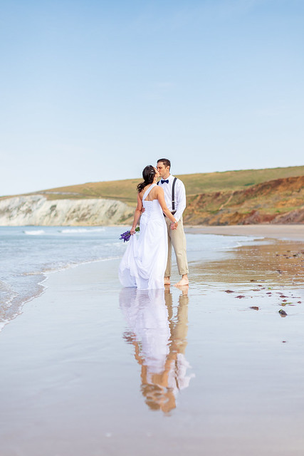 Wedding Shoot, Compton Beach, Isle of Wight - IMG_2431