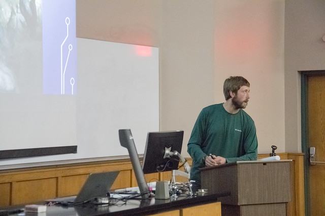 Kyle Lassiter, Tennessee Cave Survey, Spring Presentation Meeting, University of the South, Franklin County, Tennessee