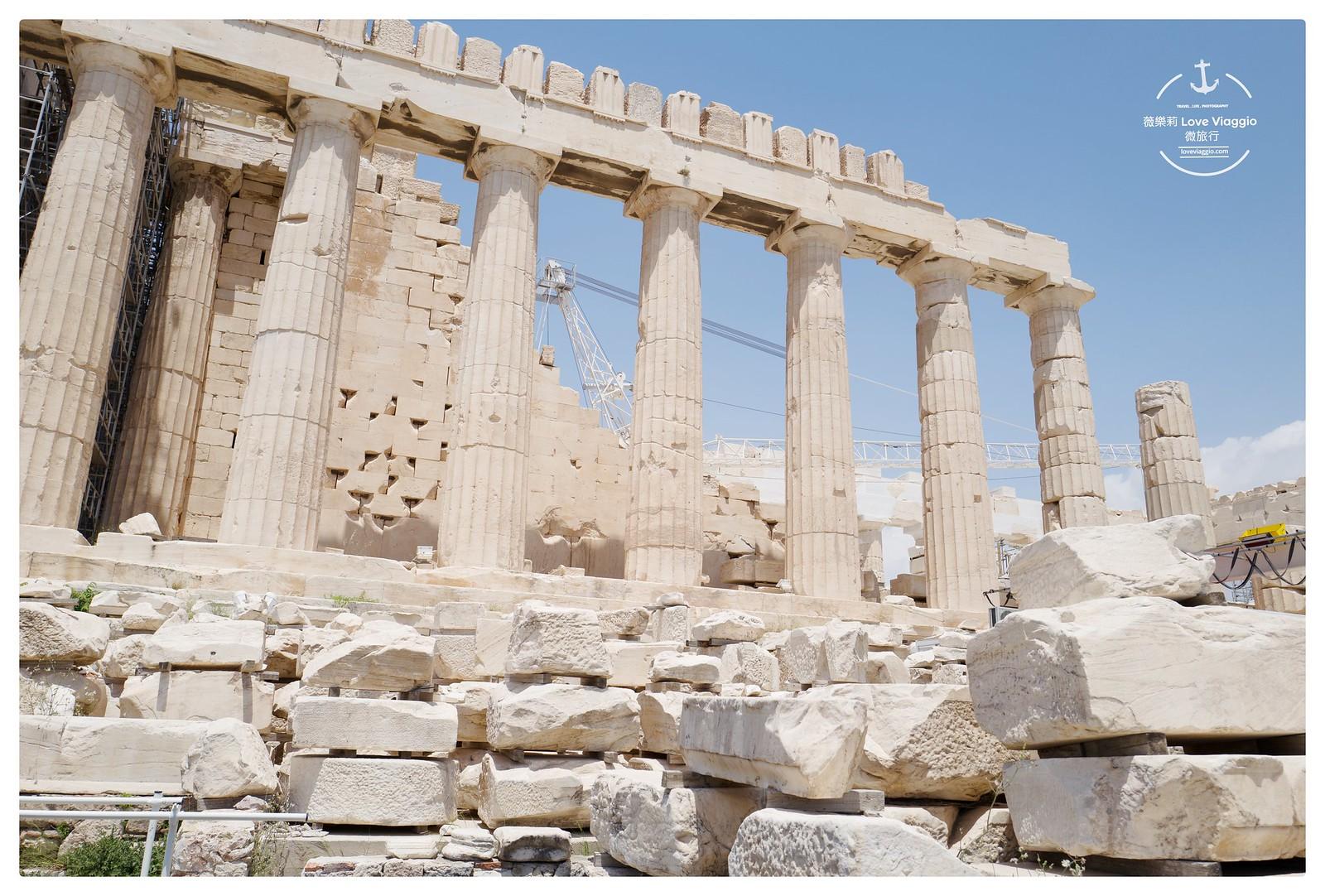 【希臘 Greece】雅典景點衛城Acropolis 世界文化遺產古希臘帕德嫩神廟 @薇樂莉 Love Viaggio | 旅行.生活.攝影