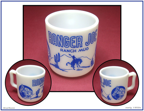Ranger Joe Ranch Mug  early 1950s