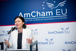 A New Deal for Consumers with Commissioner Jourova | by AmCham EU
