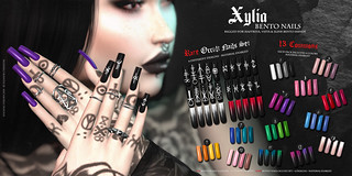 SU! Xylia Bento Nails | by Eleanor Cyberstar
