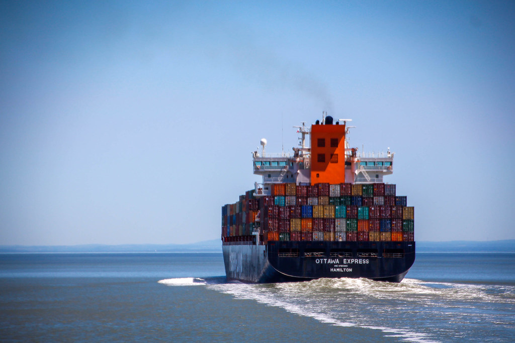 """A picture of a ship to better answer """"Is e-commerce really killing brick and mortar retail?"""""""