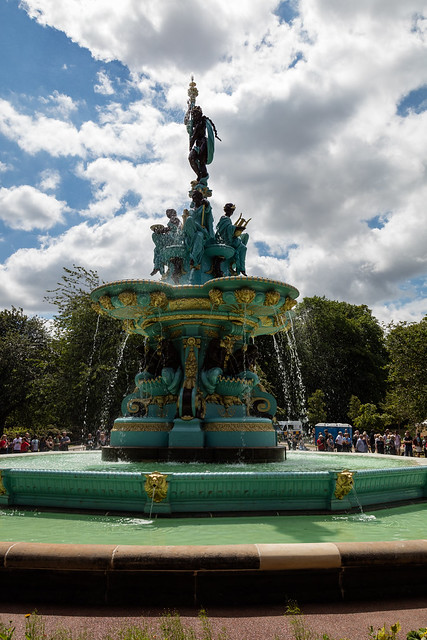 Opening of the Ross Fountain -99
