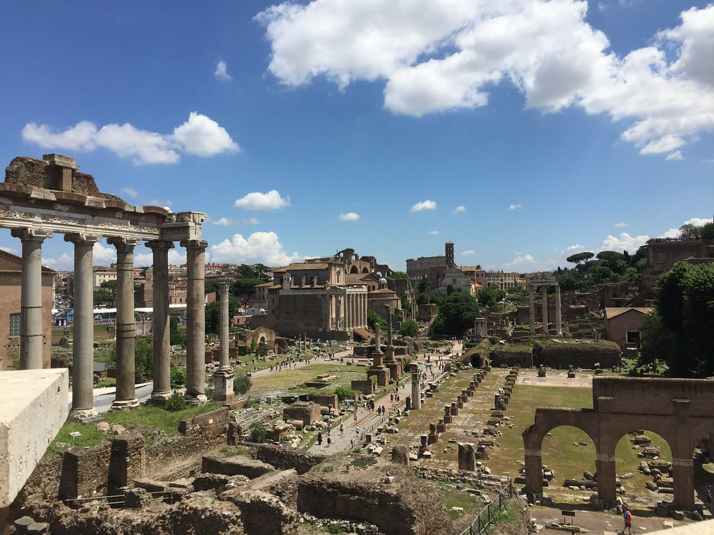 Michaela Busic Study Abroad in Rome, Italy | The view of the