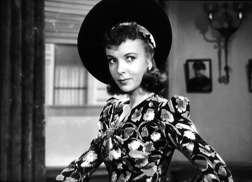 """Ida Lupino in """"They Drive By Night"""" (1940). 