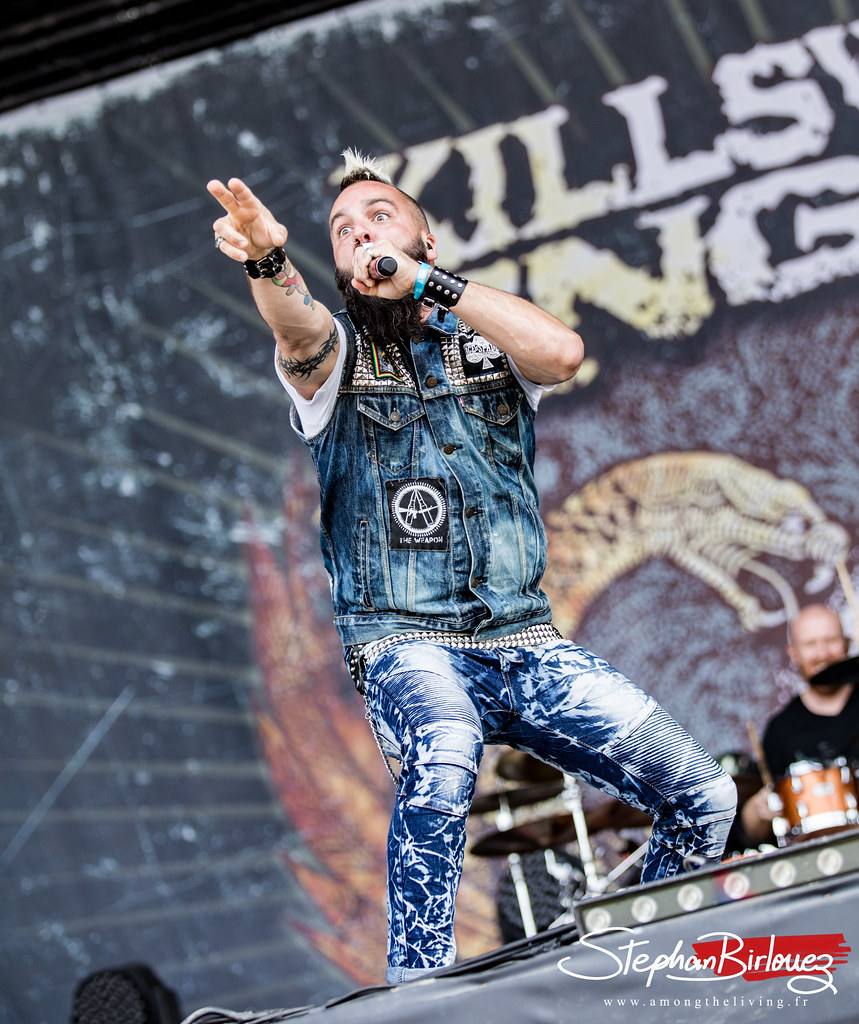 KILLSWITCH ENGAGE @HELLFEST Open Air 2018 | Stephan Birlouez