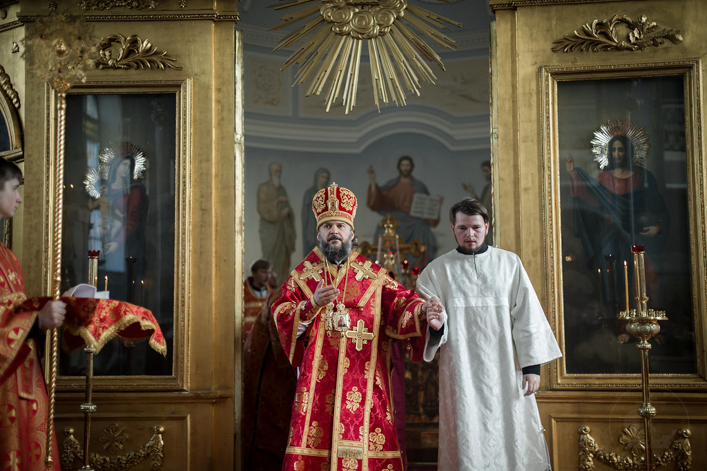27 июня 2018, Литургия. Хиротония во диакона Ярослава Арзамасова / 27 June 2018, Divine Liturgy. The ordination to the diaconate of Yaroslav Arzamasov