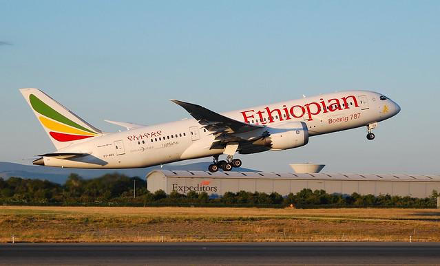 ET-AOV B787-8 Ethiopian A/L