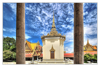 Phnom Penh K - The throne hall inside the Royal Palace complex 08 | by Daniel Mennerich