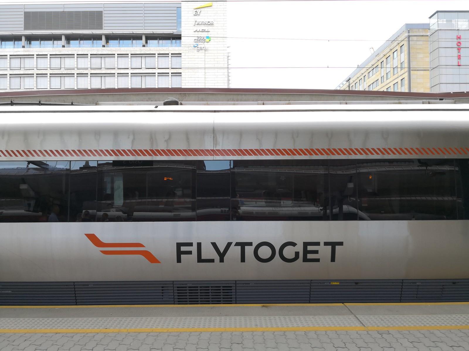 Flytoget train