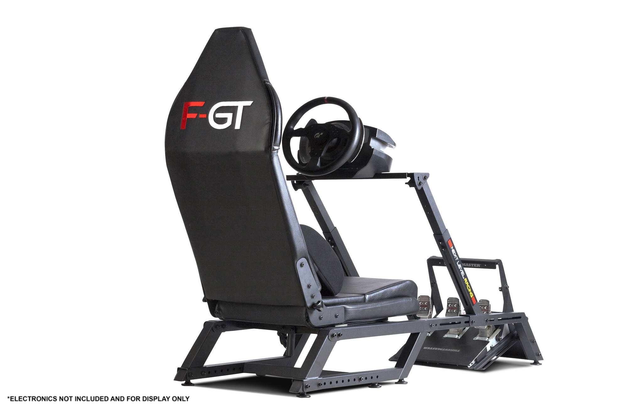Next Level Racing F-GT Matte Black Simulator Cockpit 12