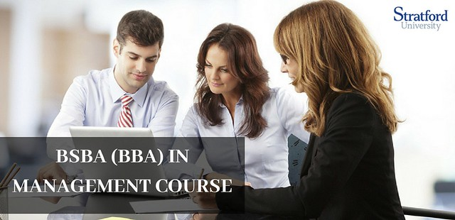 BSBA (BBA) IN MANAGEMENT