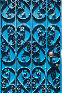 Medina Door Metal Work